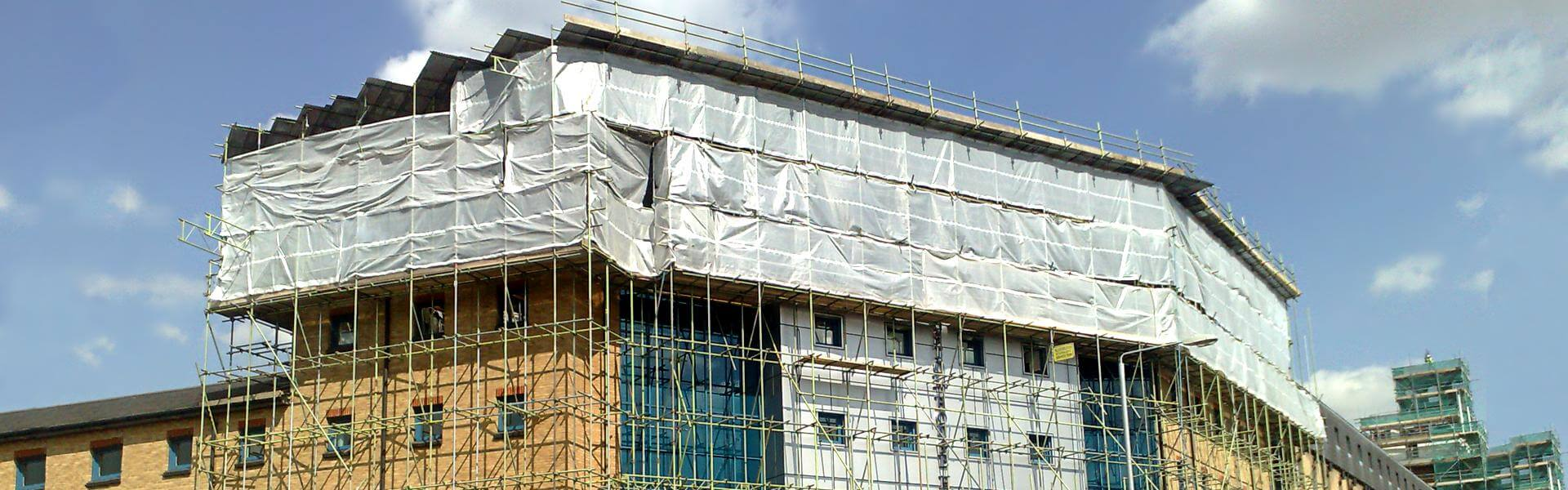 Professional scaffolding services to the construction industry